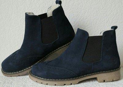 48751fa82 Timberland женские синие зимние ботинки натуральная замша кожа флис  Тимберленд супер оксфорд