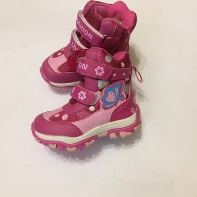 Термо- ботинки розовые для девочки