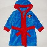 Детский махровый халат, Супермен, 3-6 мес., 62, 68 Состояние новой вещи