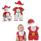 Новогодний костюм Дед Мороз либо Санта и Снеговик