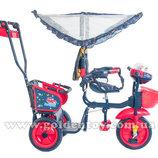 Велосипед для двойни Озорной ветерок