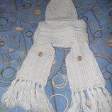 Набор шапка с шарфом F&F