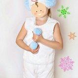 снеговик карнавальный костюм,карнавальные костюмы,карнавальный костюм