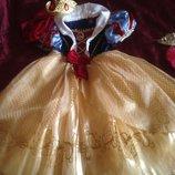 карнавальный костюм платье Белоснежки