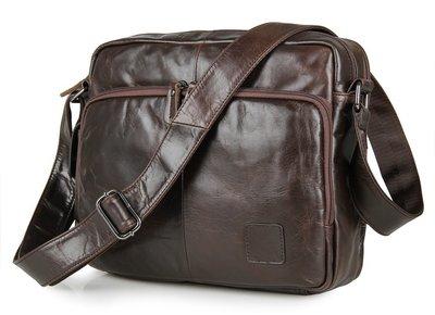 Мужская сумка портфель Органайзер из натуральной кожи