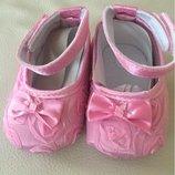 Очаровашные Пинетки для девочки 12 р 13 р розовые