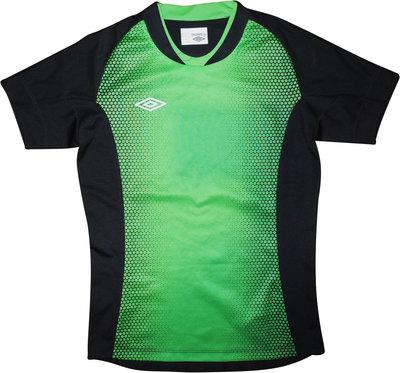 Женская футболка серая зеленая для спорта фитнеса UMBRO GT S