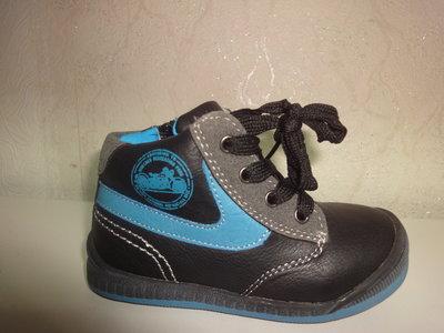 Утепленные ботинки на мальчика 20,22 р. Apawwa, флис, осень, весна, ботінки, хлопчик, осінь, апава
