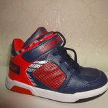 Демисезонные ботинки 25 р 15 см fieerinni на мальчика кроссовки, высокие, осенние, весенние, хайтопы