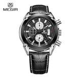 Мужские классические часы Megir Relogio 2020
