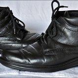 Ботинки кожаные обмен