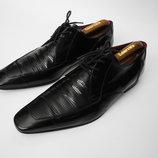 Туфли кожаные черные Jeffery West MUSE р11 44.5 Испания