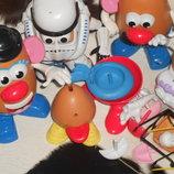 шикарный фирменный набор деталей конструктора Mr.Potato Playskool Hasbro Сша оригинал