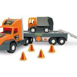 Машина Super Truck , с мусоровозом, в кор. 27 80 20 см, Тм Wader 36730