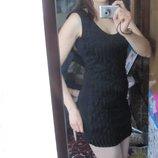маленькое черное платье S , черное вечернее платье, платье 42-44 р.