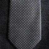 Мужской галстук элегантный с узором квадрат George