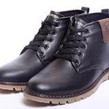 Мужские зимние ботинки Polo черные