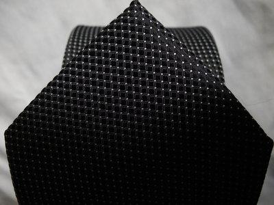 Акция Подарок Мужской галстук черный серый в крапп в узорчик Burton 8 см