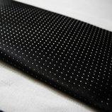 Мужской галстук узкий черный серый в крап Burton 5 см