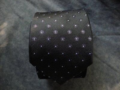 Мужской галстук 100% Шелк в цветочек в узорчик хаки Hemlock