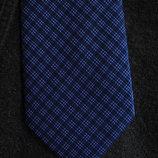 Мужской галстук синий в клетку George