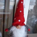 Большие стильные оригинальные гномы 2 вида декор предметы интерьера Новый год новогоднее подарки дом