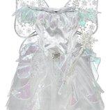 Прокат костюм сніжинка, снігова фея, снежинка, зима, метелица завірюха на 2-5, 6-9, 7-12 р - Позняки