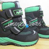 Термо черевики B&G RAY175-19 для хлопчика зимові терміки біджи зимние термо ботинки би джи мальчика