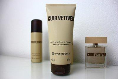 Парфюмированный гель для тела и волос Cuir Vetiver от Ив Роше 200 мл