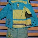 Зимний термо комбинезон C&A Rodeo куртка и штаны р. 98