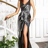 Эксклюзивное бархатное платье