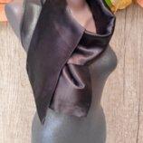 Двойной атласный шарф 140 см-15 см.