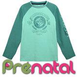 Модный мятный реглан для мальчиков 3-8 лет фирмы Prenatal Италия