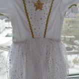 Новогоднее платье на 2-3 года ,фирма Tesko