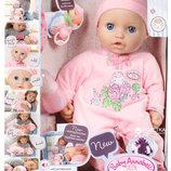 интерактивный пупс настоящая малютка Baby Annabell Zapf Creation 794401