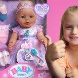 Кукла пупс интерактивная Baby Born Фея 824191 Новая версия 2017