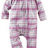 Пижама,ромпер,слип,человечек фланелевый 50-56, Германия