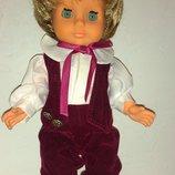 Кукла анатомический мальчик Гдр винтаж номер