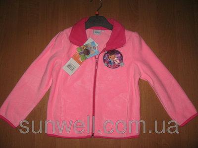 Продано: Флисовая кофта для девочки Sun City 3-6лет