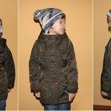 куртка-парка 4-6 лет George шапка в подарок