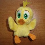 Цыпленок, птенец. Франки - персонаж из мультфильма. Мягкая игрушка