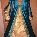 Карнавальное платье принцессы королевы новогодний костюм прокат