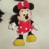 шикарная мягкая игрушка малышка Минни Маус Minnie Mouse Disney Гонконг оригинал 23 см