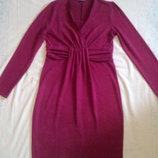 Теплое платье для беременных и кормящих мам Mamatyta
