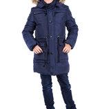 Новинка Зимняя куртка для мальчиков Ричард , 128-158 см.