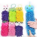Детское полотенце-игрушка из микрофибры разные