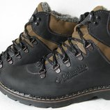 Columbia мужские зимние ботинки натуральная кожа мех Коламбия ботинки теплые комфорт супер качество