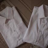 Разные новые школьные рубашки фирмы F&F на 11-14 лет рост 152-164