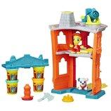 Play-Doh Игровой набор Город Пожарная станция Town Firehouse B3415