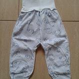 Ползунки шапочки слюнявчики для новорожденных на рост 50-54, 56-62, 68-74, 74-80